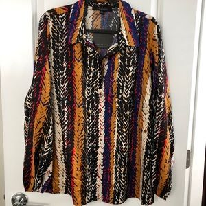 Marc New York Multicolored Top Size 2X